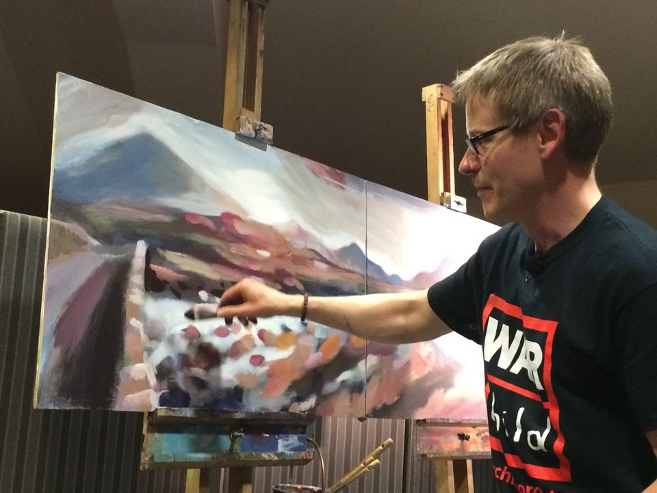 Marcliffe Event Mike Painting